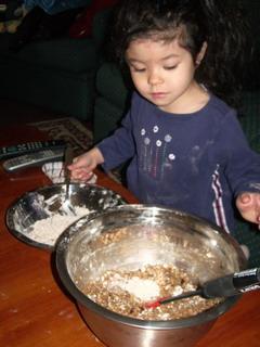 kyoko help making oat cookies.jpg