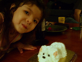 kyoko with doggy cake.jpg